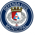 logo defensa civil areco