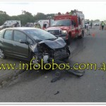accidente en lobos