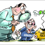 politicos caricatura
