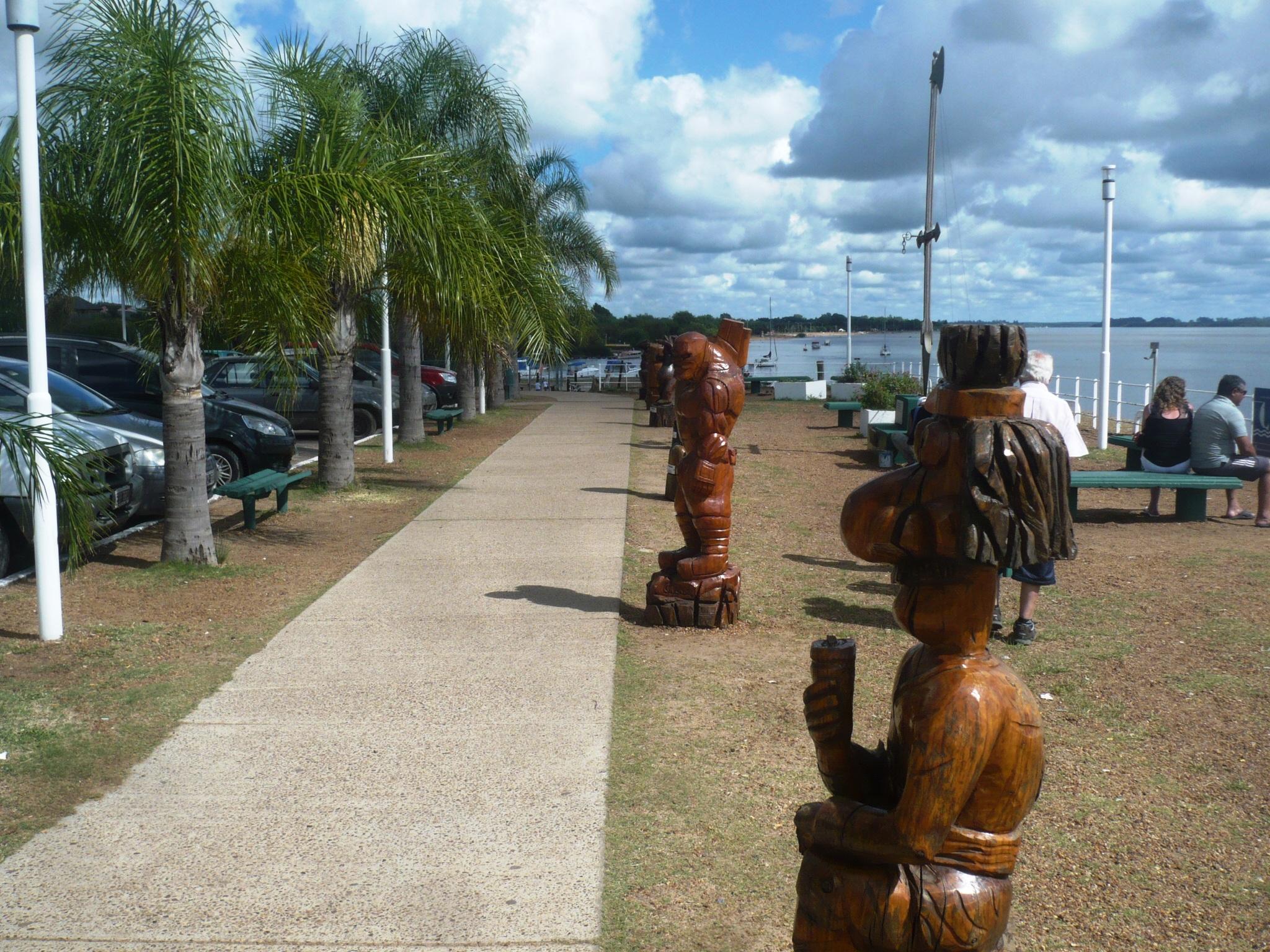 colon estatuas