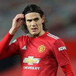 Manchester (United Kingdom), 29/12/2020.- Manchester United's Edinson Cavani during the English Premier League soccer match between Manchester United vs Wolverhampton Wanderers in Manchester, Britain, 29 December 2020. (Reino Unido) EFE/EPA/Martin Rickett / POOL EDITORIAL USE ONLY. No use with unauthorized audio, video, data, fixture lists, club/league logos or 'live' services. Online in-match use limited to 120 images, no video emulation. No use in betting, games or single club/league/player publications.